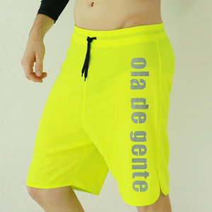 M NEON-LIME BOARDSHORT